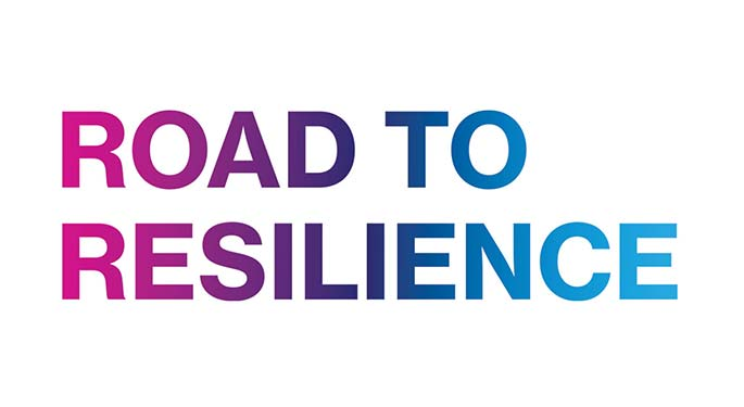 Road to Resilience sign