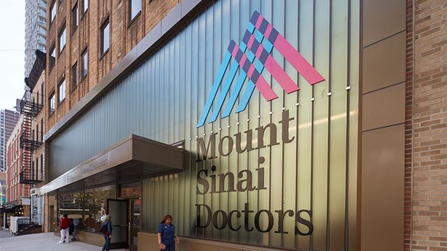 Image of mount sinai doctors building entrance