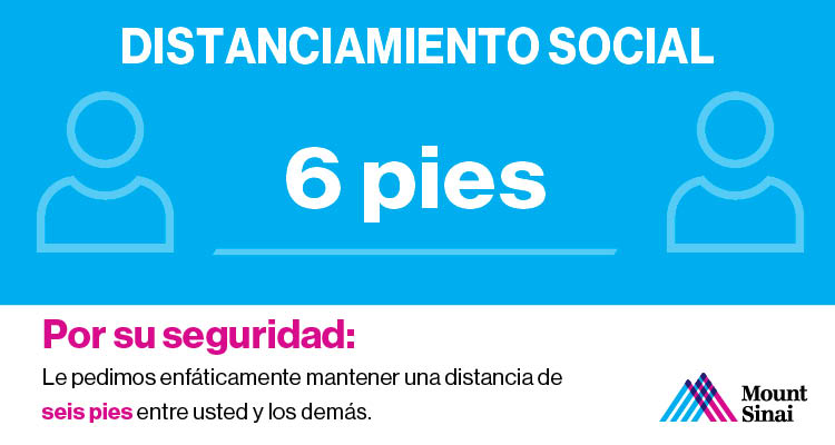 Social Distancing Spanish