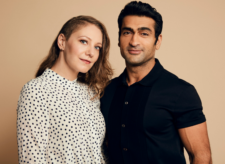 Photo of image of Emily and Kumail
