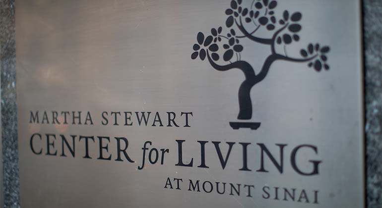 The Martha Stewart Center for Living – Geriatrics Outpatient Practice at The Mount Sinai Hospital
