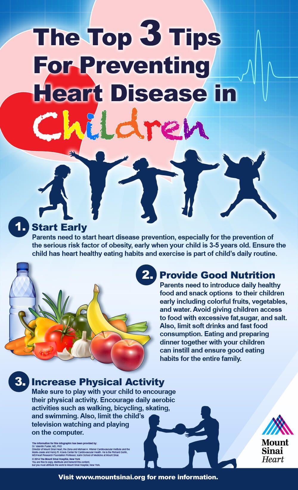 Preventing Heart Disease in Children   Mount Sinai - New York