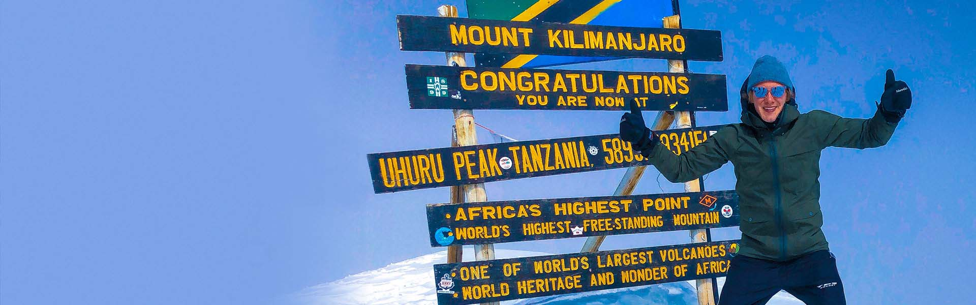 image of Viktor Frisk at Mount Kilimanjaro
