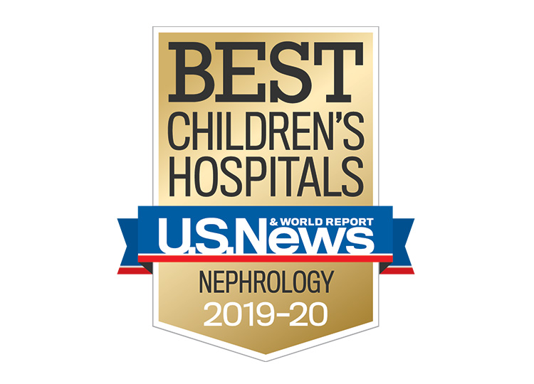 Photo of US News Best Children's Hospitals 2019-2020 Nephrology
