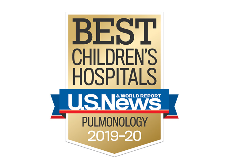 Photo of US News Best Children's Hospitals 2019-2020 Pulmonology