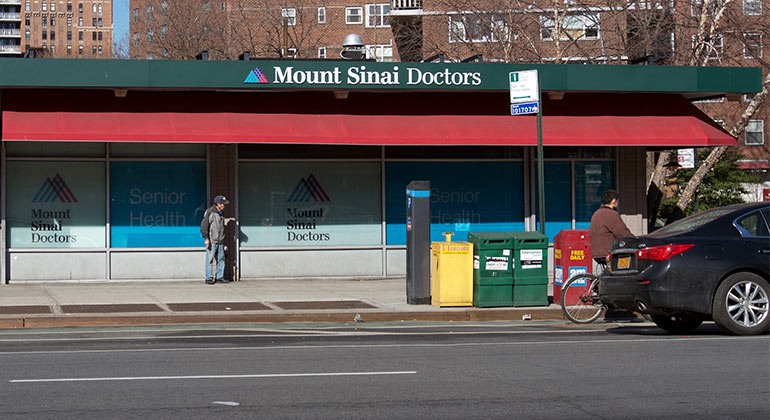 Primary care locations midtown manhattan mount sinai for 111 8th ave 7th floor new york ny 10011