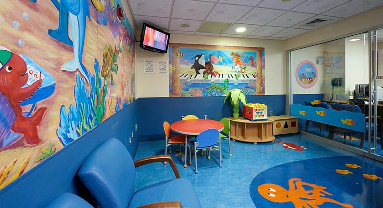 Image of kids waiting room