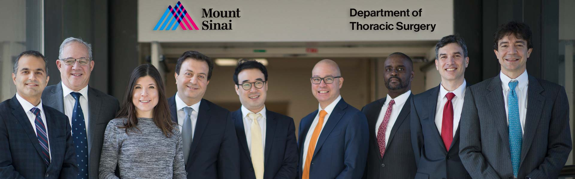 Image of Thoracic Surgery team