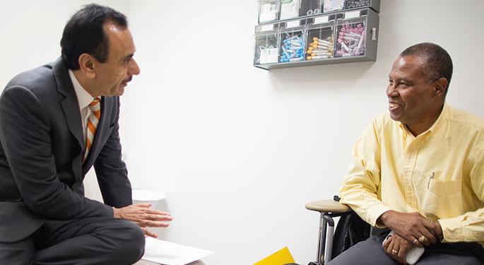 Before Robotic Prostate Surgery Mount Sinai New York