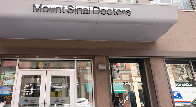 Mount Sinai Doctors – West 8th Street