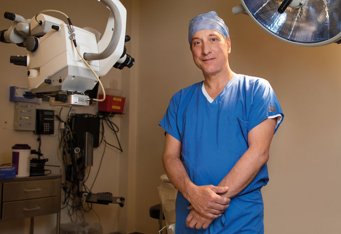 "A photo showing Ronald Gentile, MD, with this quote from him: ""…we now have an important new procedure in our toolbox, and won't be afraid to roll it out for patients who previously had no good options."""