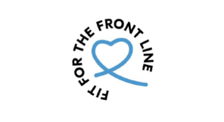 Fit for the frontline logo