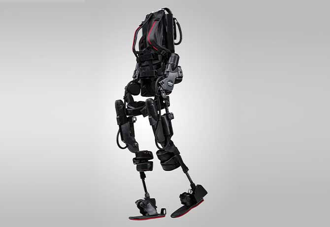 A photo of the EksoGT by Ekso Bionics