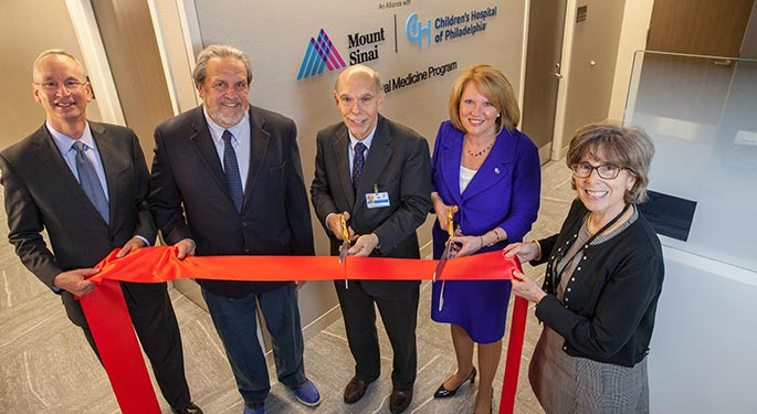 Children's Hospital of Philadelphia and Mount Sinai Health System Mark Milestone in Fetal Medicine and Children's Heart Programs