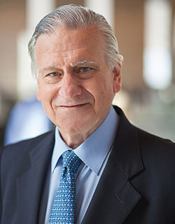 A portrait of Valentin Fuster, MD, PhD