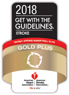 American Heart Association Gold Plus Logo