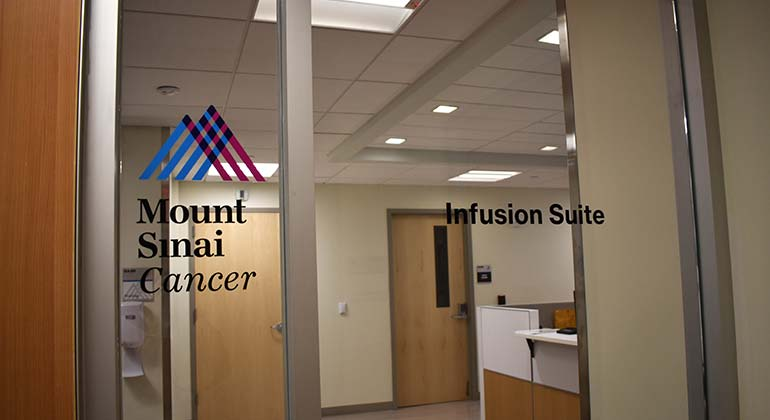 Photo of Mount Sinai St. Luke's Infusion Suite Entrance