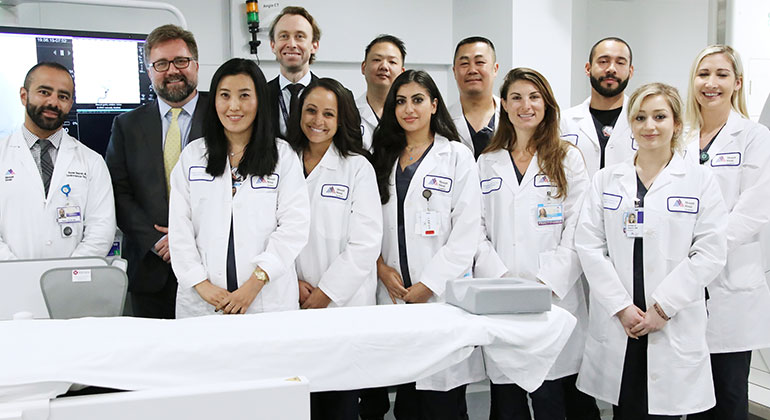 Neurosurgery team