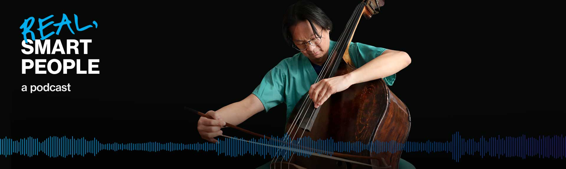 Dr. Ting playing cello