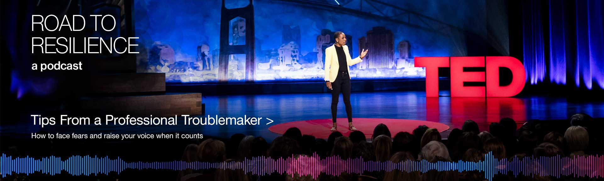 Luvvie Ajayi Jones at her TED Talk