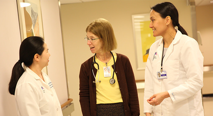 Image of Dr. Jessica Robinson-Papp with Resident