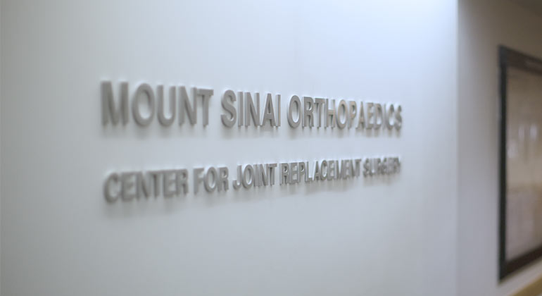 Mount Sinai Center for Joint Replacement Surgery
