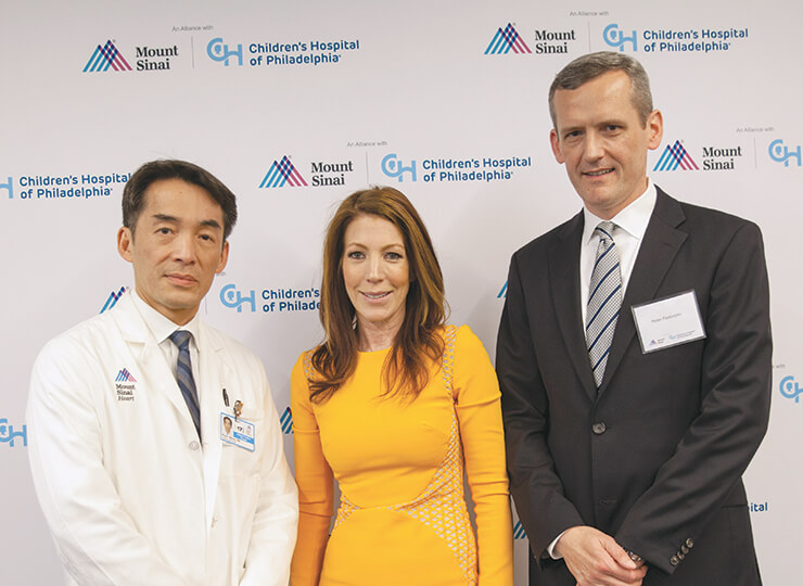 Photo of Drs at Mount Sinai-CHOP alliance event