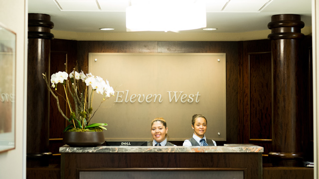 Eleven West Accomodations