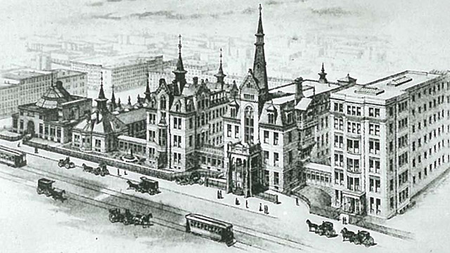 History of Mount Sinai West   Mount Sinai - New York