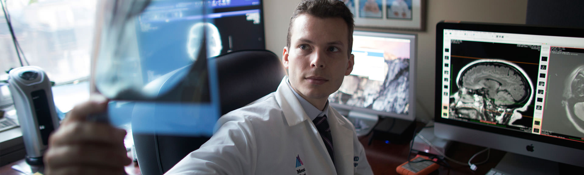doctor of neurosurgery at Mount Sinai West