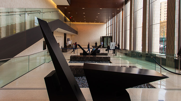 image of lobby at Hess Building, Icahn School of Medicine at Mount Sinai