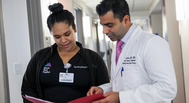 The Spine Center at The Mount Sinai Hospital