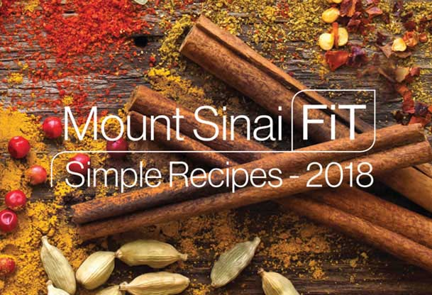 Mount Sinai Fit Simply Recipes 2018